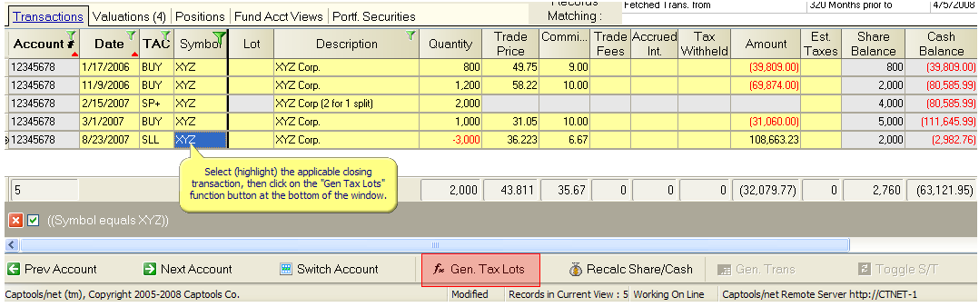 Tax treatment of stock options trading